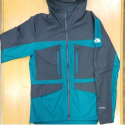 TNF JACKET FANTASY RIDGE EVERGLADE GREY