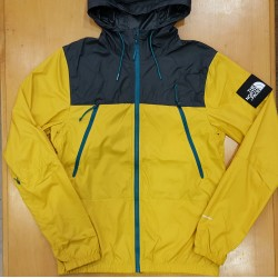 TNF 1990 MOUNTAIN JKT LEO YELLOW GREY