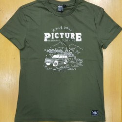 PICTURE TEE LIFESTYLE ARMY GREEN