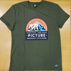 PICTURE TEE EARTH DARK GREEN