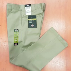 DICKIES WORK PANT STRAIGHT 873 KHAKI '32