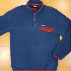 PATAGONIA SNAP FLEECE SYNCHILA STON BLUE