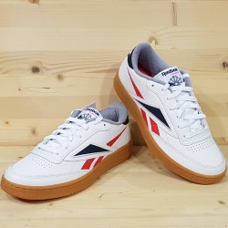REEBOK CLUB C 85 MU WHITE RED NAVY