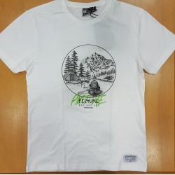 PICTURE TEE RIVER WHITE