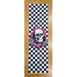 POWELL PERALTA GRIP RIPPER CHECKER WHITE