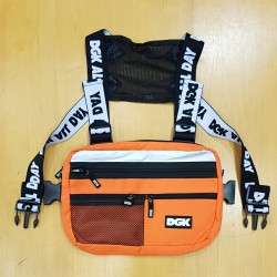 DGK BAG HAZARDOUS CHEST ORANGE
