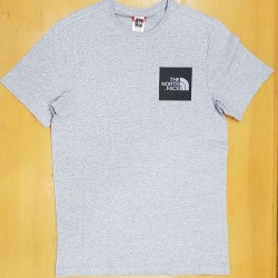 TNF SS TEE FINE HEATHER GREY