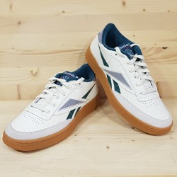 REEBOK CLUB C 85 MU WHITE GREEN GUM