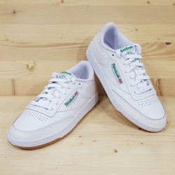 REEBOK WM CLUBC85 WHITE GREEN GUM