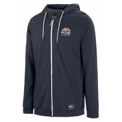 PICTURE ORGANIC SWEAT ZIP HAMILTON DARK BLUE