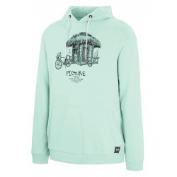 PICTURE ORGANIC SWEAT HOODIE WINTON GUM GREEN COTON BIO