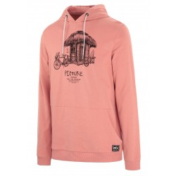 PICTURE ORGANIC SWEAT HOODIE WINTON RUSTY PINK COTON BIO