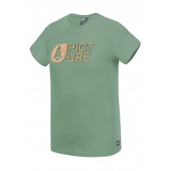 PICTURE ORGANIC T-SHIRT BASEMENT CORK ARMY GREEN