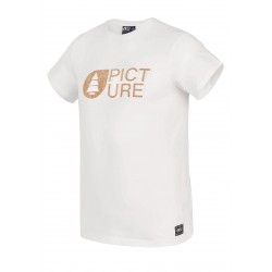 PICTURE ORGANIC T-SHIRT BASEMENT CORK WHITE