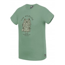 PICTURE ORGANIC T-SHIRT PACKER ARMY GREEN