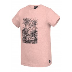 PICTURE ORGANIC T-SHIRT PAUL CRYSTAL PINK