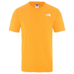 The North Face T-SHIRT RED BOX  FLAME ORANGE