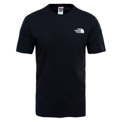 The North Face T-SHIRT RED BOX BLACK
