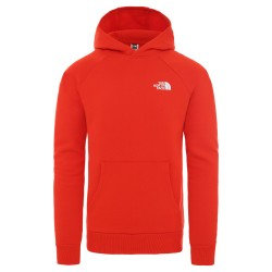 The North Face Sweat à capuche RAGLAN RED BOX FIERY RED