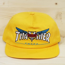THRASHER X VENTURE COLLAB CASQUETTE GOLD