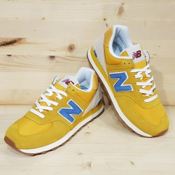NEW BALANCE ML574 SCB VARSITY GOLD BLUE