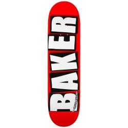 """BAKER SKATEBOARD DECK BRAND LOGO WHITE 8.125"""""""