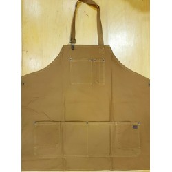DICKIES TABLIER APRON BROWN DUCK