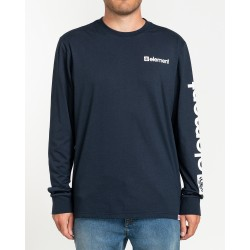 ELEMENT T-SHIRT MANCHES LONGUES JOINT ECLIPSE NAVY