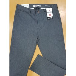 ELEMENT PANT CHINO HOWLAND CHARCOAL HEATHER