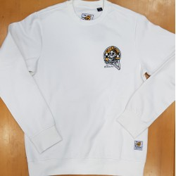 ELEMENT X TIMBER CREW SWEAT TAXI DRIVER OPTIC WHITE