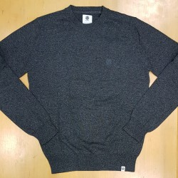 ELEMENT PULL CREW CHARCOAL HEATHER