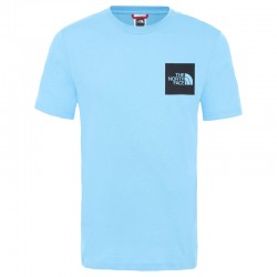 THE NORTH FACE TEE FINE ETHERAL BLUE TNF