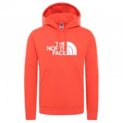 THE NORTH FACE HOODY DREW PEAK FLARE RED TNF SWEAT-SHIRT