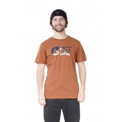 PICTURE T-SHIRT LOFOTEN BROWN