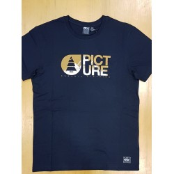 PICTURE T-SHIRT LOFOTEN DARK BLUE