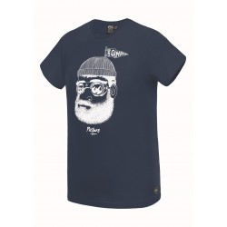 PICTURE T-SHIRT PINECLIFF DARK BLUE