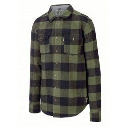 PICTURE CHEMISE HILLSBORO BLACK FLANELLE CARREAU