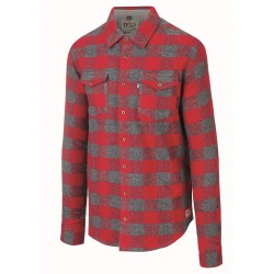 PICTURE CHEMISE HILLSBORO RED CARREAUX FLANELLE