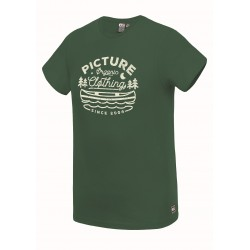 PICTURE T-SHIRT COLTER FOREST GREEN
