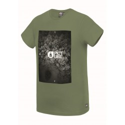 PICTURE T-SHIRT JASPER ARMY GREEN