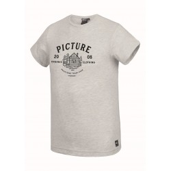 PICTURE T-SHIRT BRADY LIGHT GREY