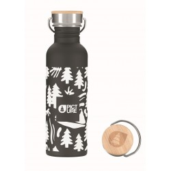 PICTURE GOURDE HAMPTON BLACK 750ML
