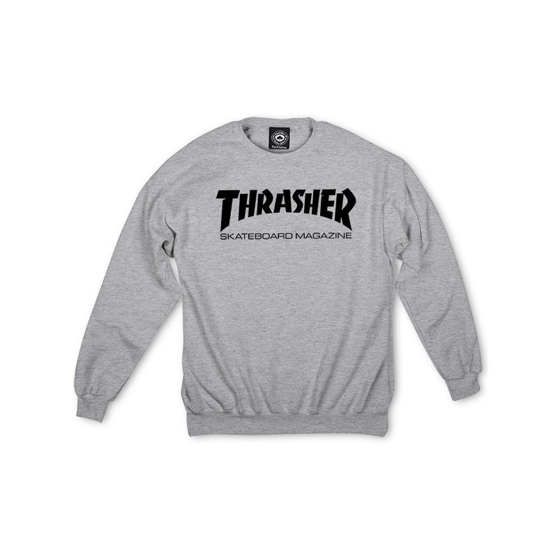THRASHER CREW SKATE MAG GREY