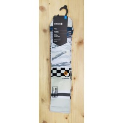 STANCE running CHAUSSETTES MISSION SPACE CREW WHITE