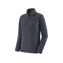 PATAGONIA FEMME POLAIRE R1 AIR ZIP NECK SMOLDER BLUE