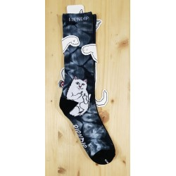 RIPNDIP CHAUSSETTES LORD NERMAL BLACK LIGHT WASH
