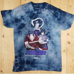 PRIMITIVE X NARUTO T-SHIRT IZANAMI WASHED BLUE