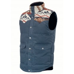 PICTURE JACKET RUSSEL DARK BLUE