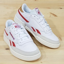 REEBOK CLUB C REVENGE WHITE RED WHITE