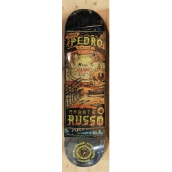 """ANTIHERO deck 8.25"""" MAPS TO THE SKATERS HOME RUSSO SKATEBOARD"""